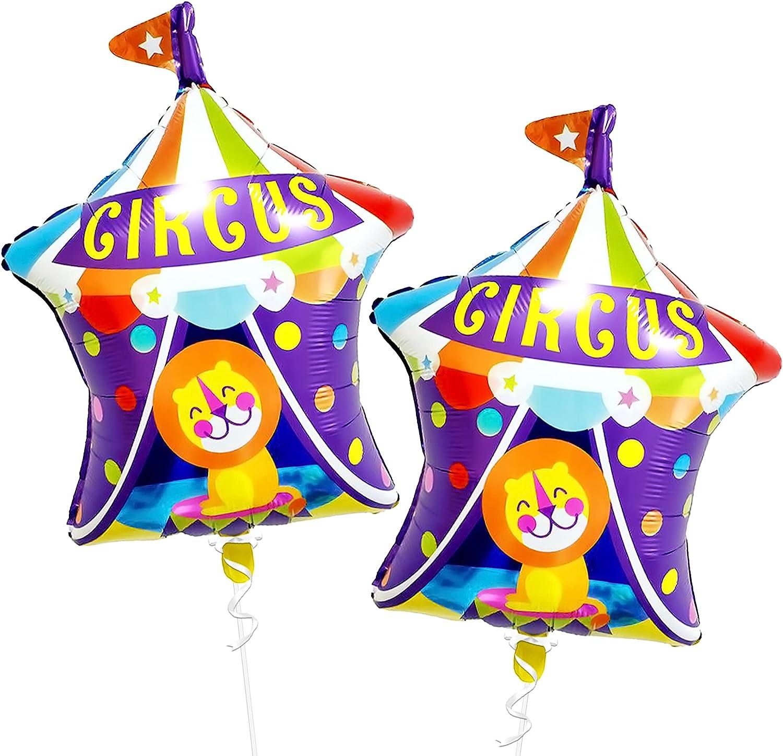 Circus Tent Foil Balloons