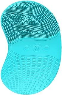 Siliconen gezichtsreiniger Gezichtsreinigingsborstel Siliconen en stimulatorborstel IPX7 Waterdicht, USB oplaadbaar instru...