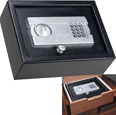 Digital Drawer Safe Electronic Lock Box Cash Home Office Storage Case LEGENDARY-YES