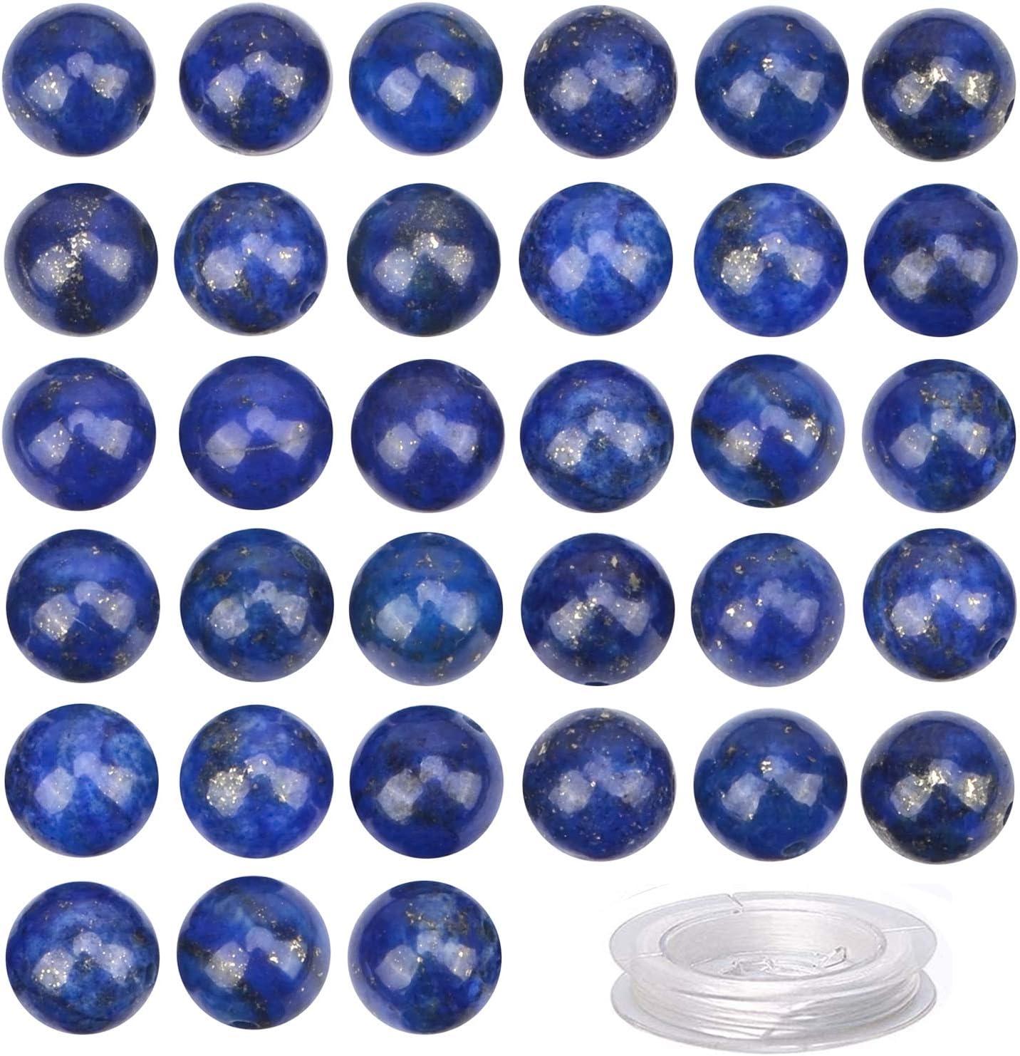 100Pcs Ranking TOP6 Natural Crystal Beads Stone Energy Gemstone favorite H Round Loose