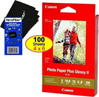 Canon Photo Paper Plus Glossy II (4 x 6