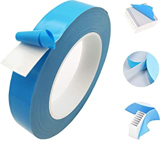 0.25mm Thermal Adhesive Tape, Double Sided Thermal Tape for IC PCB CPU LED Strip Light Heatsink (Width 10mm x Length 25m)