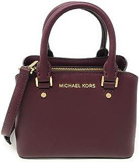 Michael Kors Mini Savannah XS Saffiano Leather Satchel Crossbody Bag