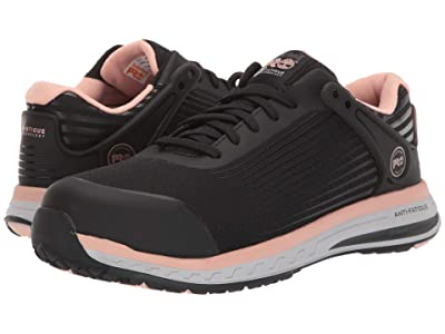 Timberland PRO Drivetrain Composite Safety Toe (Black/Pink) Women