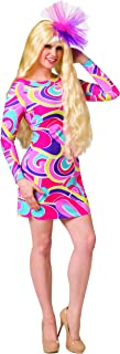 Rasta Imposta Totally Hair Barbie Doll Costume with Wig, Women's Adult, One Size