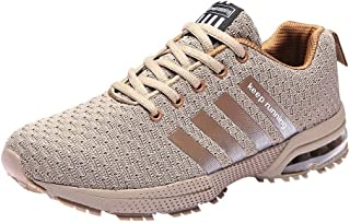 Clearance Men's Sports Wear-Resistant Outdoor Breathable Shoes,Casual Flat Mixed Color Non-Slip Sneker