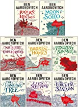 Ben Aaronovitch Rivers of London Series Collection 8 Books Set (Rivers of London,Moon Over Soho,Whispers Under Ground,Broken Homes,Foxglove Summer,The Hanging Tree,Lies Sleeping,The Furthest Station)