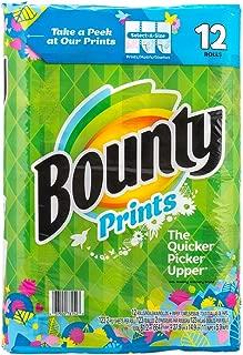 Bounty バウンティー ペーパータオル 2枚重ね 123シート × 12ロール (柄あり)