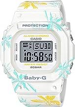 Casio International Edition Baby-G Summer Flower Pattern White BGD560CF-7