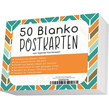 Carta acquerello 30 cartoline in scatola di metallo Hahnem/ühle