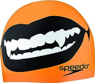 Speedo Fang Thang Silicone Swim Cap - Elastomeric Fit (7510187)