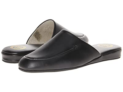 L.B. Evans Duke Scuff (Black Leather) Men