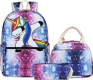 School Backpack Galaxy Teens Girls Boys Kids School Bags Bookbag with Laptop Sleeve Galaxy