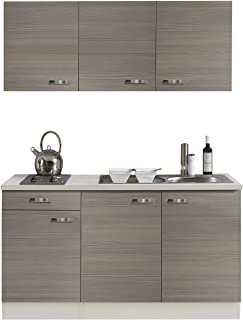 Suchergebnis auf Amazon.de für: küche mit spüle herd und kühlschrank