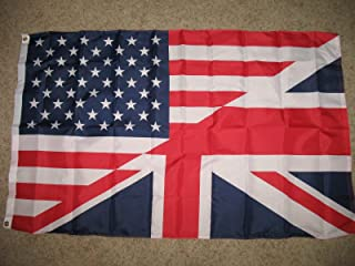 american and uk flag