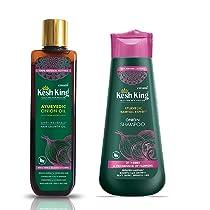 Kesh King Onion Oil, 100ml + Kesh King Onion Shampoo, 300ml