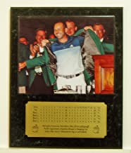 Sergio Garcia 2017 Masters Tournament Champion 8x10 Green Jacket Picture Plaque with Engraved Scorecard