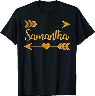 SAMANTHA Personalized Name Funny Birthday Custom Gift Idea T-Shirt