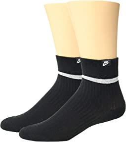 8efe49d69 Nike band cotton quarter 6 pair pack | Shipped Free at Zappos