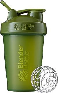 BlenderBottle C01621 Classic Loop Top Shaker Bottle, 20oz, Moss Green