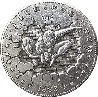 1893-S Hobo Nickel USA Morgan Dollar Coin Copy