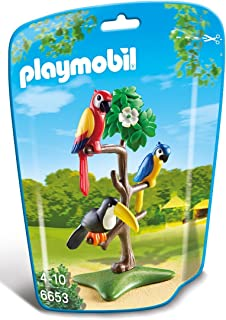 Playmobil City Life Zoo Tropical Birds