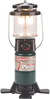 Coleman Propane Lantern | Deluxe Perfect Flow Gas Lantern for Camping and Outdoor Use