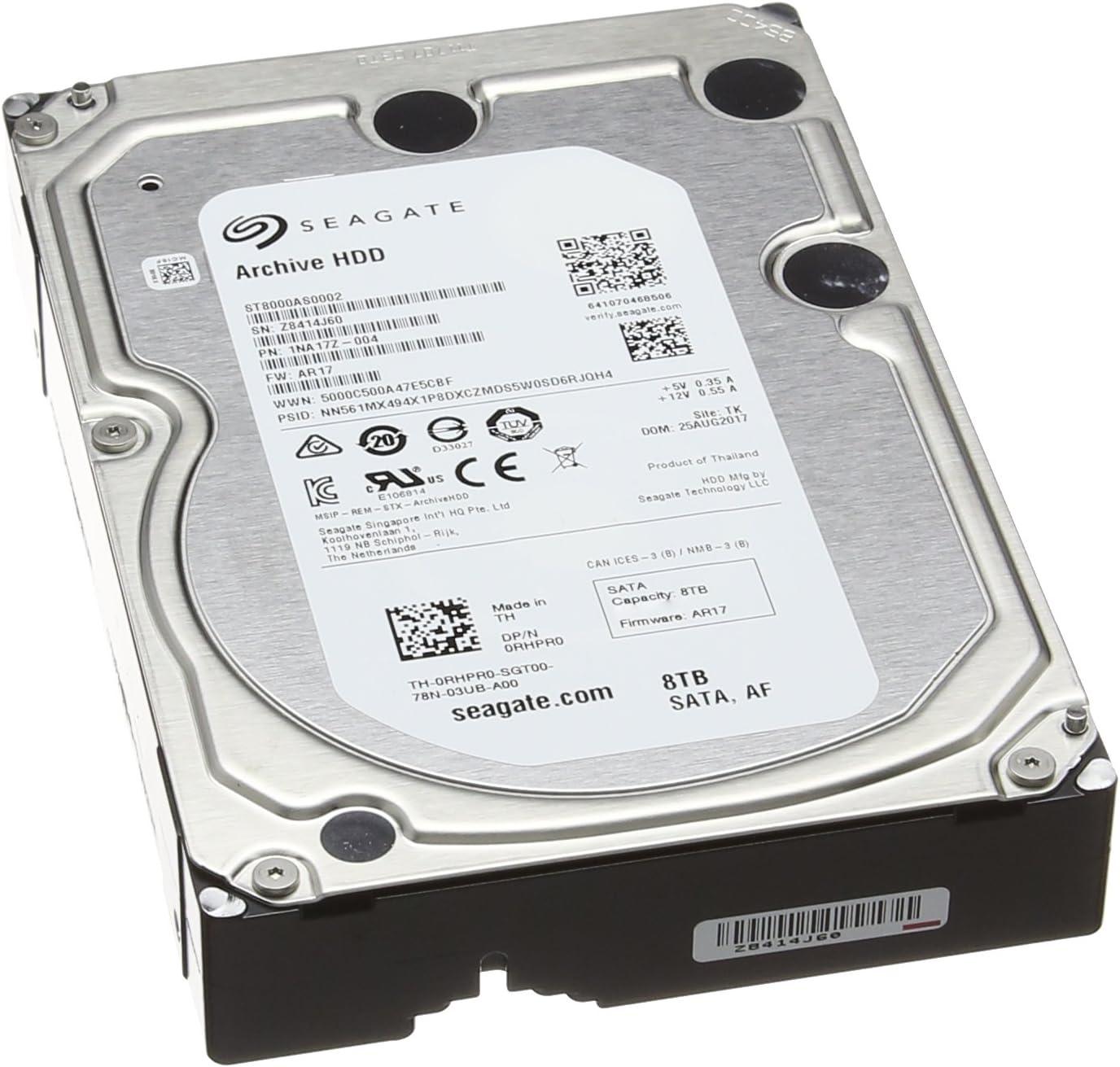 Seagate Archive Hdd 8 Tb Interne Festplatte 3 5 Zoll Computer Zubehör