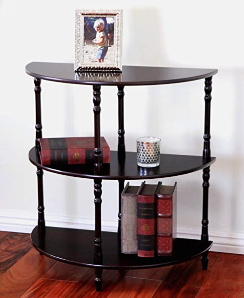Frenchi Home Furnishing Wood 3 Tier Crescent