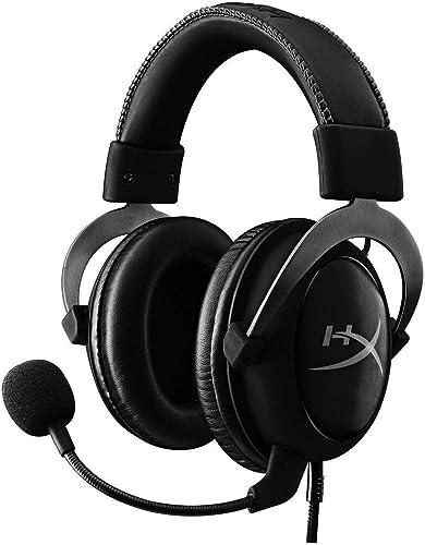 HyperX Cloud II - Gaming Headset, 7.1 Surround Sound, Memory Foam Ear Pads, Durable Aluminum Frame, Detachable Microp...