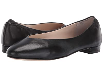Cole Haan Kaia Flat (Black Leather) Women