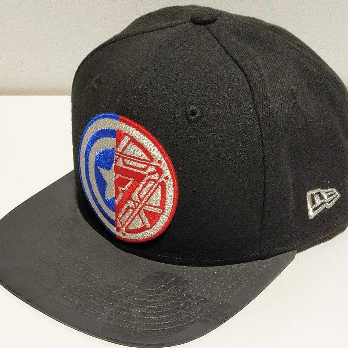 トレース女王フォローアイアンマン キャプテンアメリカ ニューエラ 帽子 キャップ