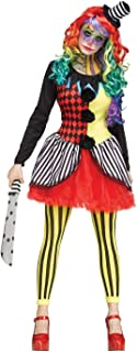 adult freak show clown costume