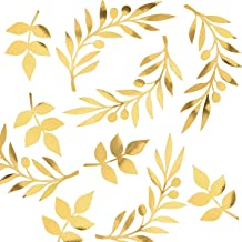 Best gold paper leaves Reviews