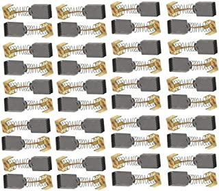 LDEXIN Generic Electric Carbon Brushs Motor Spring Carbon Brushes Replacement for Makita Power Tool CB64 11x7x5mm,Pack of 40