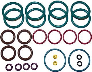 Crosman Benjamin Marauder BP1763/BP1764 .177 & BP2263/BP2264 .22 Air Rifle Full 2X Color Coded Captain O-Ring Rebuild Kit