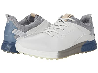 ECCO Golf S-Three GORE-TEX(r) (White/Mirage Cow Leather/Yak Leather) Women