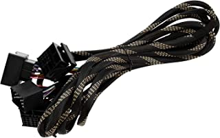 XTRONS 6 Meter extra Lange ISO Kabelbaum geeignet für BMW Head Unit mit Quadlock Anschluss ISO Wiring Harness for BMW Suitable for Head Unit with Quadlock Connection