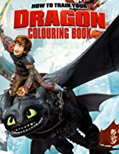 How To Train Your Dragon Colouring Book: Ready-To-Color Dragon Illustrations For Kids And Adults