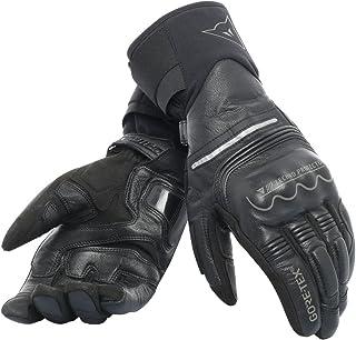 guantes de moto de cuero Gore tex