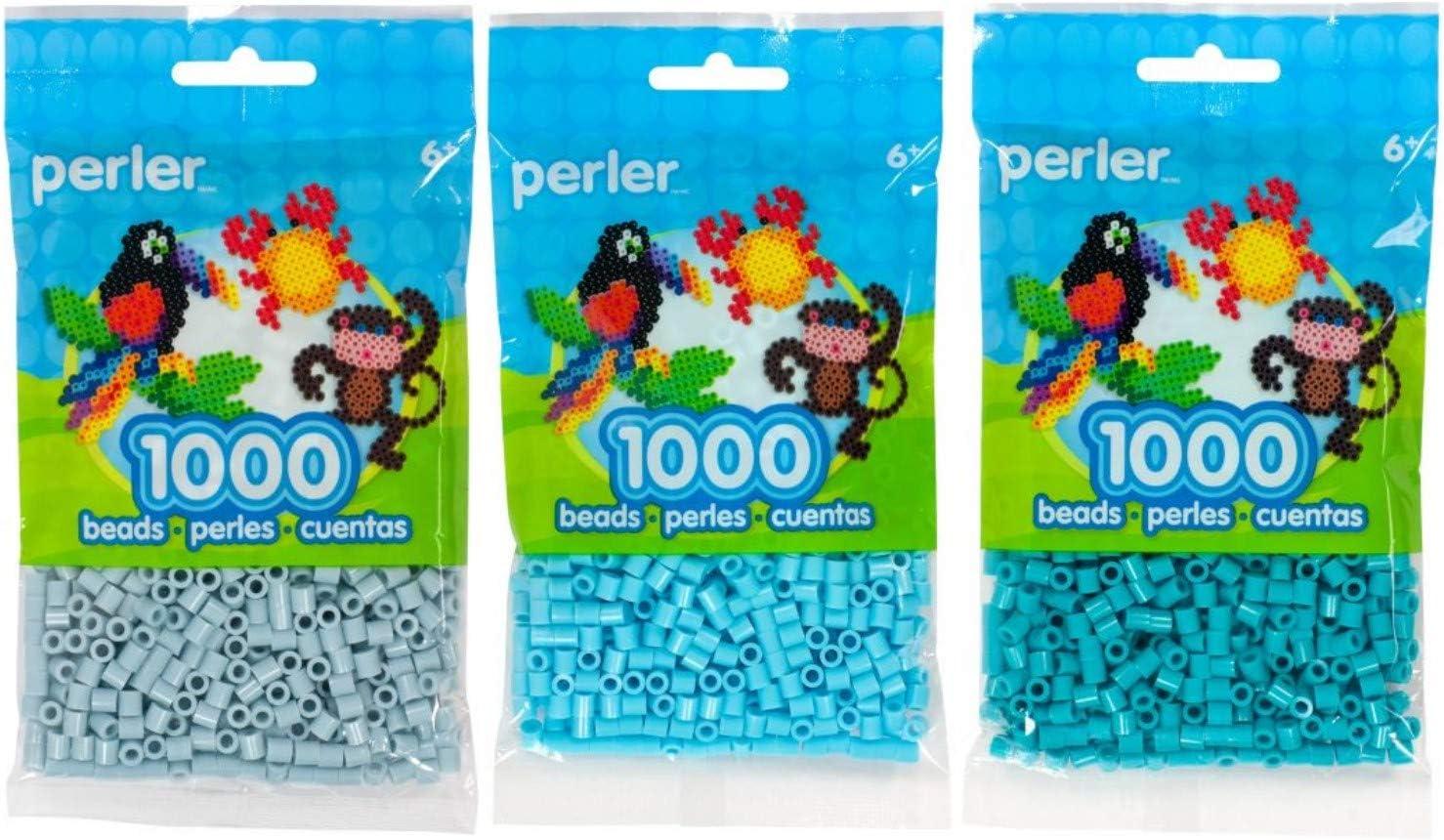 Perler Beads 1000//Pkg-Evergreen