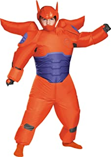 Boy's Big Hero 6 Red Baymax Inflatable Outfit Child Halloween Costume