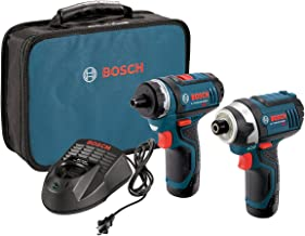 Bosch CLPK27-120 12V Max  2-Tool Combo Kit (Drill/Driver and Impact Driver) with 2..
