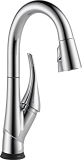 Delta Faucet Esque Single-Handle Bar-Prep Touch Kitchen Sink Faucet with Pull Down Sprayer, Touch2O Technology and Magneti...