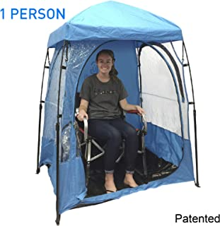 EasyGoProducts CoverU Sports Shelter – Weather Tent Pod – Patented