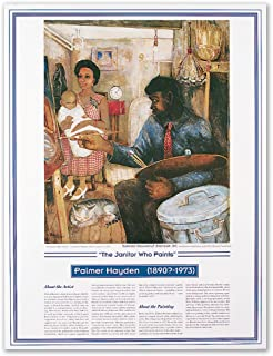 African American Artist - Palmer Hayden - The Janitor Who Paints - Print