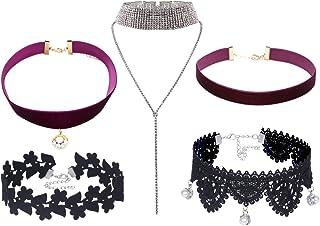90bd493370cc6 Amazon.com: Diamond Necklace Price Unique Necklaces Chokers And