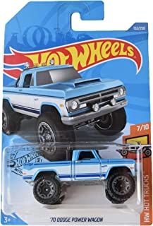 Hot Wheels '70 Dodge Power Wagon 152/250, Blue/White