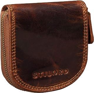 STILORD 'Cash' Mini Portafoglio Uomo Pelle Vintage Portamonete Slim Wallet Mini Scatola Portafoglio Piccolo in Pelle, Colo...