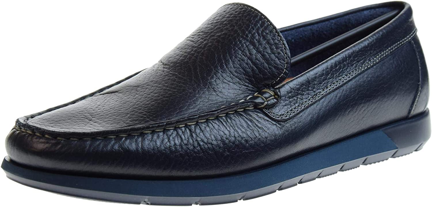 VALLEgreen shoes Man Loafers 11865 blue